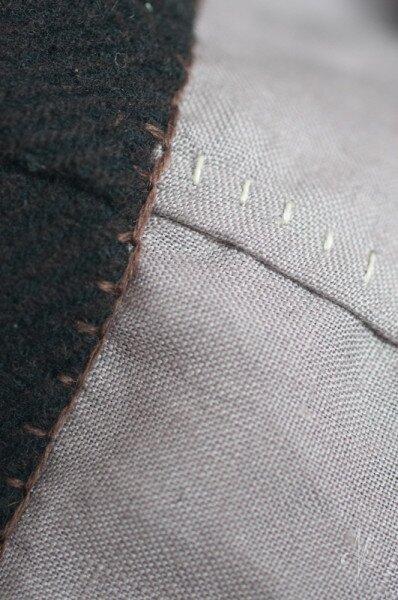 Hood seams detail HSM'15 #3 | nigdziekolwiek.com