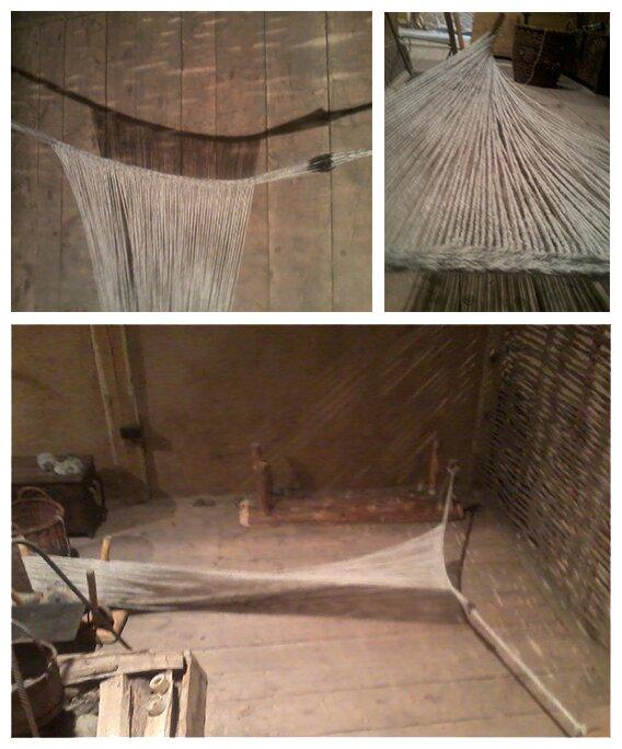 making third edge for the warp weight loom |nigdziekolwiek.com